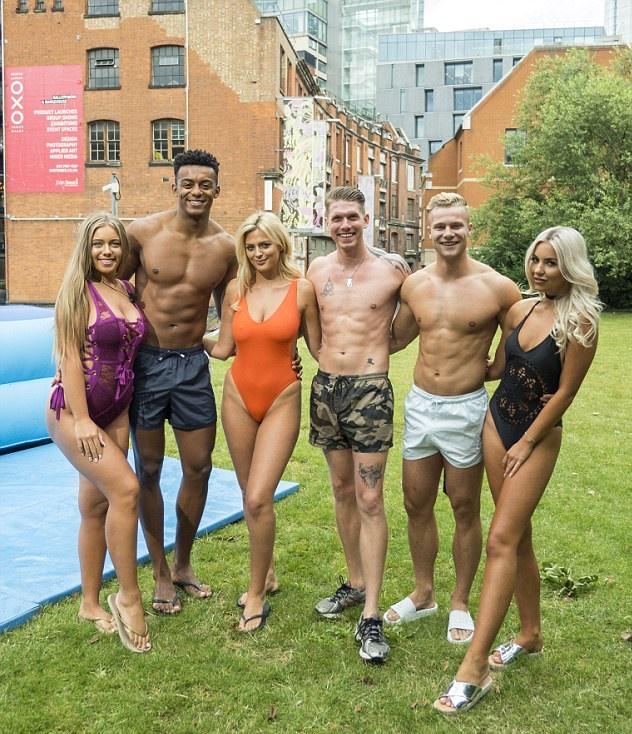 Love Island's Tyne-Lexy Clarson in swimsuit segment