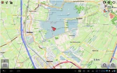 Aplikasi gps Navigator