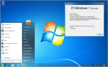 Windows 7  Ultimate 32 Bit Official Iso Setup Free Download