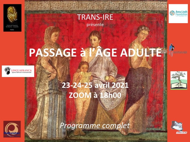 PASSAGE à l'âge adulte...