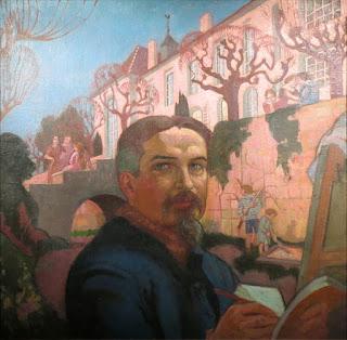 MauriceDenis - Autoportrait Devant Le Prieure