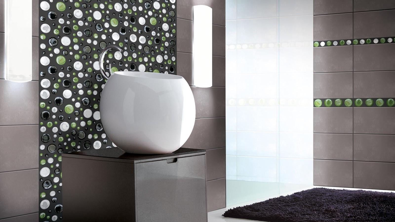 Mosaic tiles in bathroom from Vetrovivo | Floor & Wall Tiles Design ...