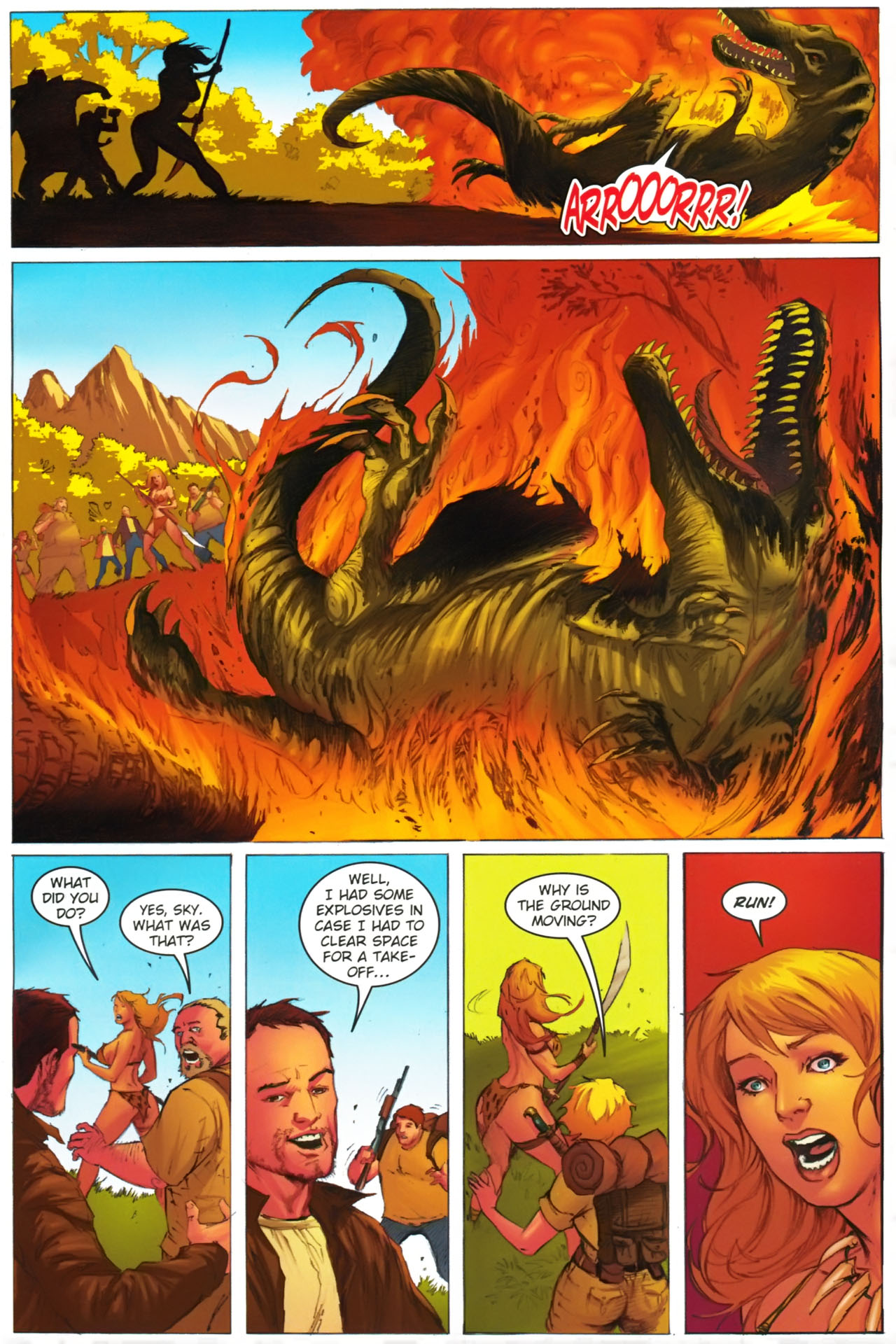 Read online Jungle Girl comic -  Issue #2 - 13