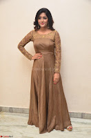 Eesha looks super cute in Beig Anarkali Dress at Maya Mall pre release function ~ Celebrities Exclusive Galleries 013.JPG