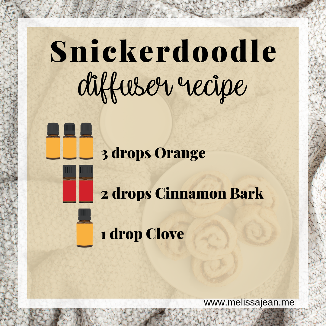 Snickerdoodle Essential Oils Recipe