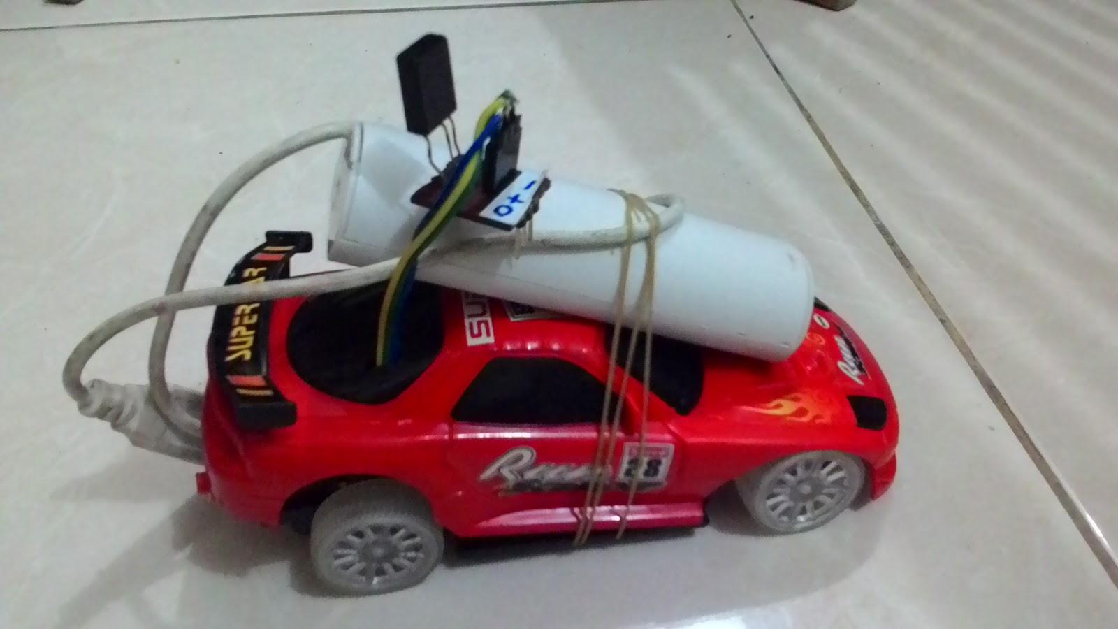 Membuat Mobil Remote Control Dengan Remote TV Dengan Mikrokontroller