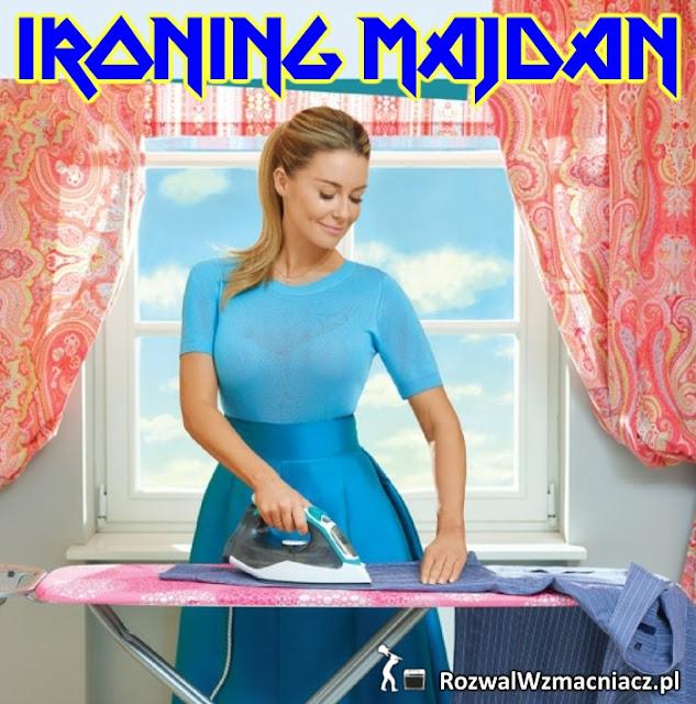 Ironing Majdan parodia Iron Maiden Małgorzata Rozenek-Majdan