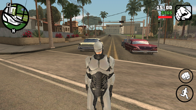 Robocop 2014 Skin For GTA San Andreas Android Download gtaam robocop skin mod download from gtaam.net skin mods