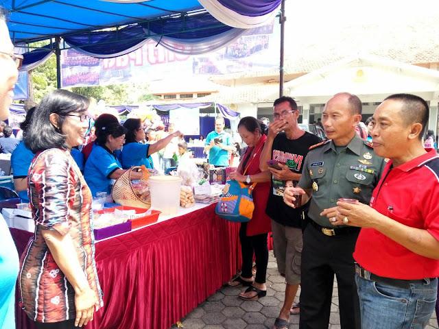 Letkol Andri Amijaya Kusuma Hadiri  Expo Paskah 2017 GITJ se Pati