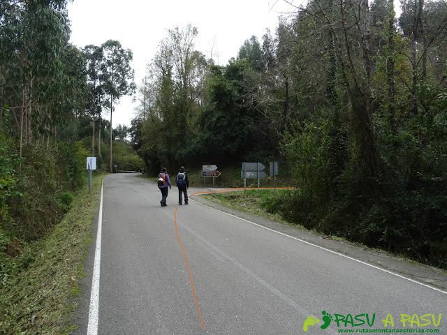 Desvío por carretera a Villanueva