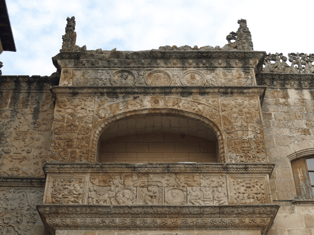 Balcón de las Reliquias, Catedral de Coria