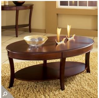 Pottery Barn Metropolitan Oval Coffee Table Decor Look