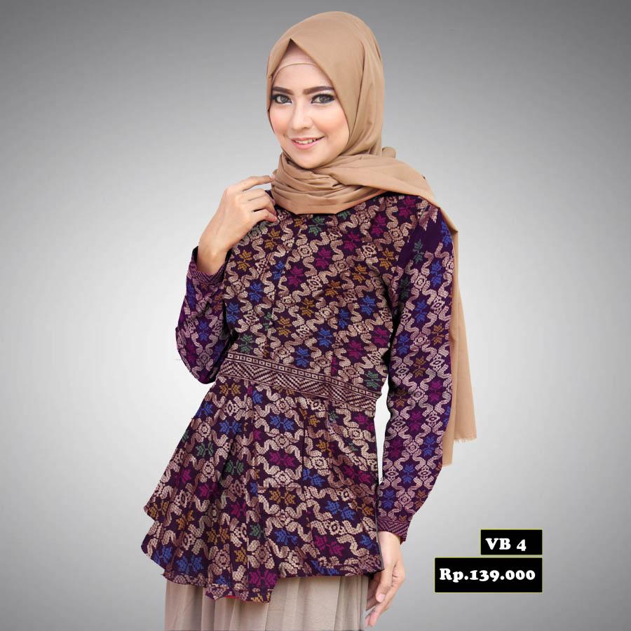 Model Baju Batik Wanita 2015: Model Desain Baju Batik Modern Terbaik Untuk Wanita Saat