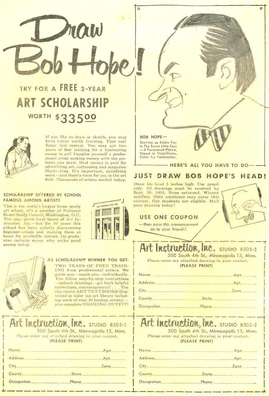Strange Adventures (1950) issue 61 - Page 2
