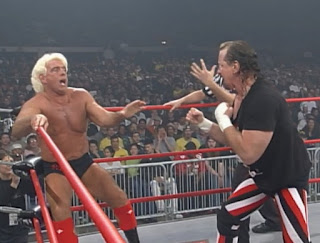 WCW Superbrawl 2000 -  Ric Flair battled Terry Funk in a Texas Deathmatch