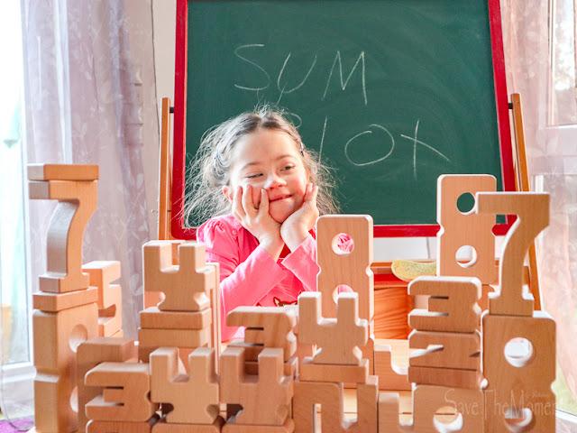 Zahlenbausteine zum bauen und rechnen Sumblox
