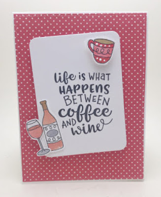 Life Happens by Erin feature Coffee & Wine by Newton's Nook Designs; #newtonsnook