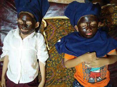 Manfaat Chocobath/Chocomask Bagi Bayi/Anak