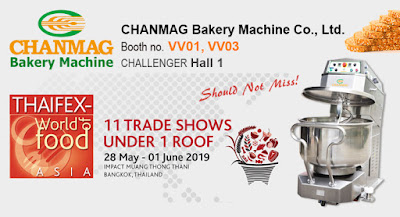 CHANMAG invitation you join us at THAIFEX 2019