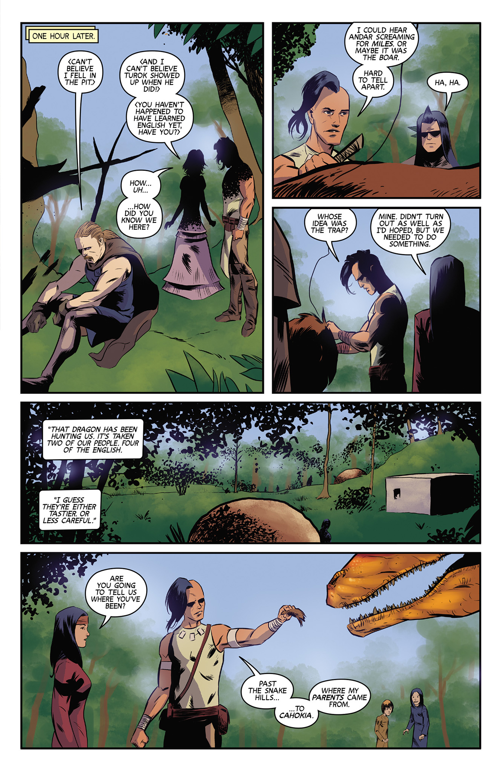 Read online Turok: Dinosaur Hunter (2014) comic -  Issue #9 - 7