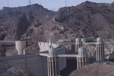 A picture of Hoover Dam