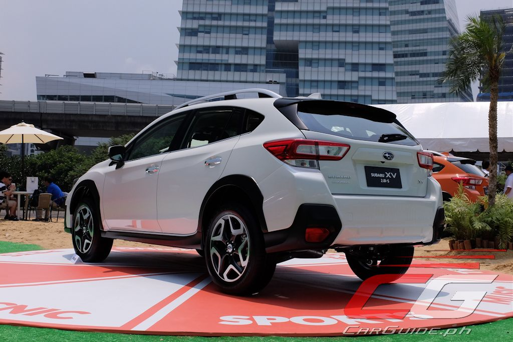 First Drive 2018 Subaru Xv 2 0i S Philippine Car News Car