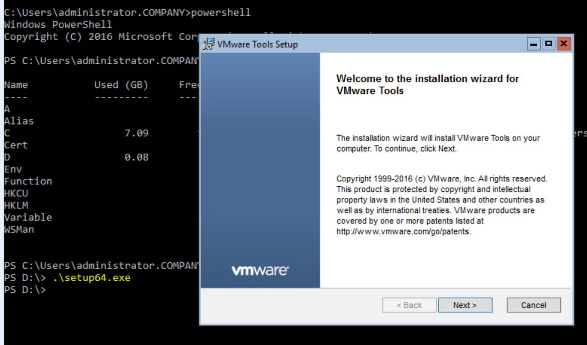 Angry Admin: Install VMware Tools On Windows Server 2012 R2