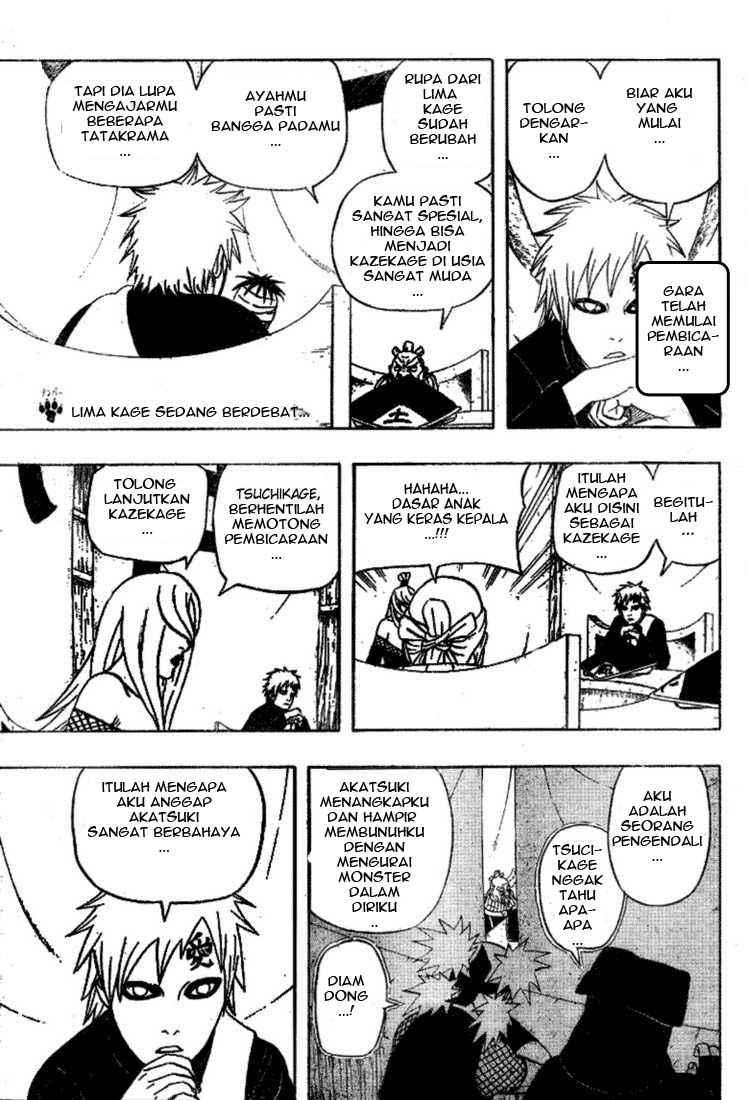 01 Naruto 458   Pendapat Lima Kage