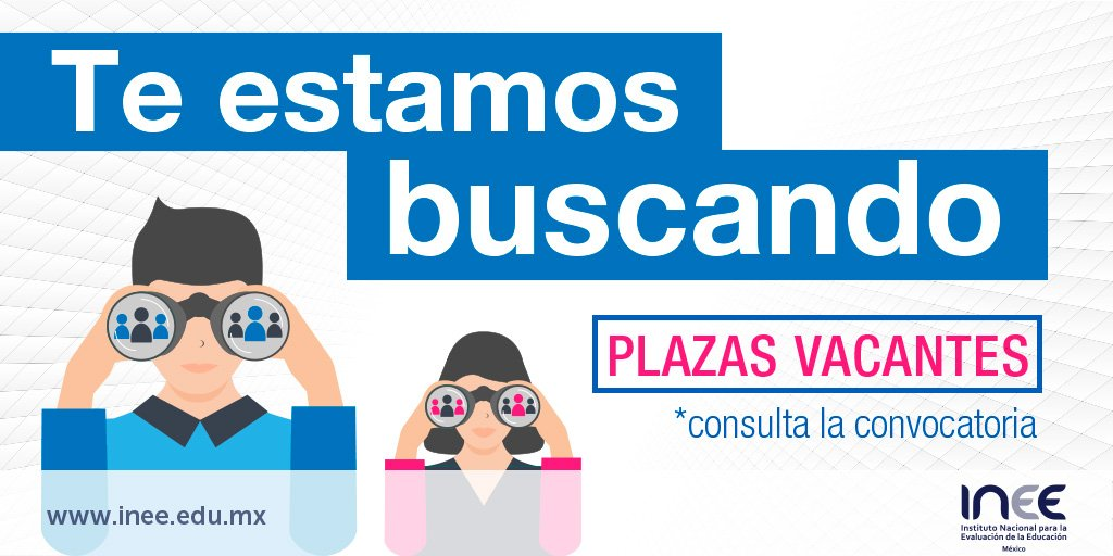 Convocatoria 01 2017 para plazas vacantes de inee for Convocatoria para plazas docentes 2017