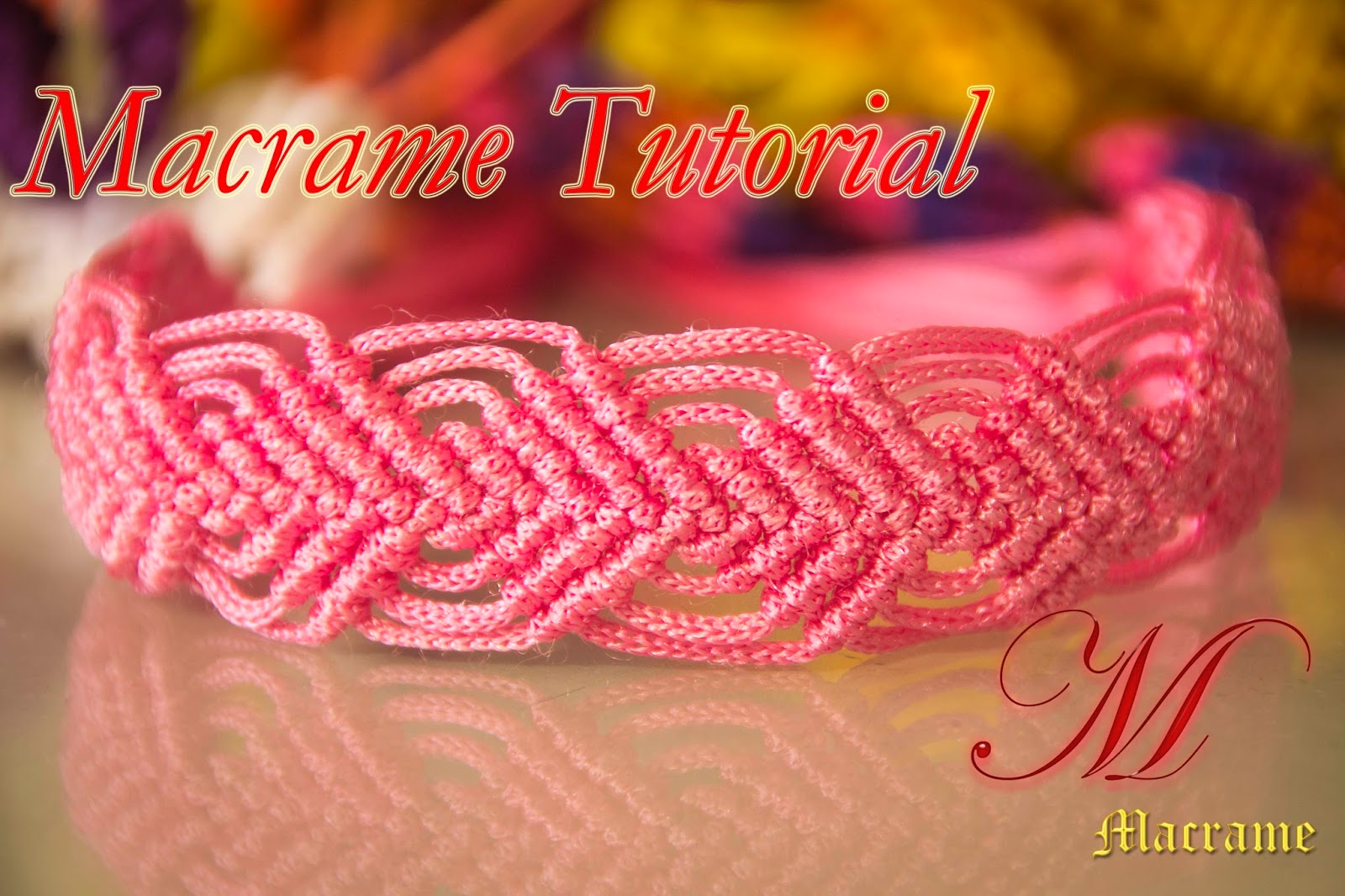 How to make macrame Leaves Bracelet style design tutorial