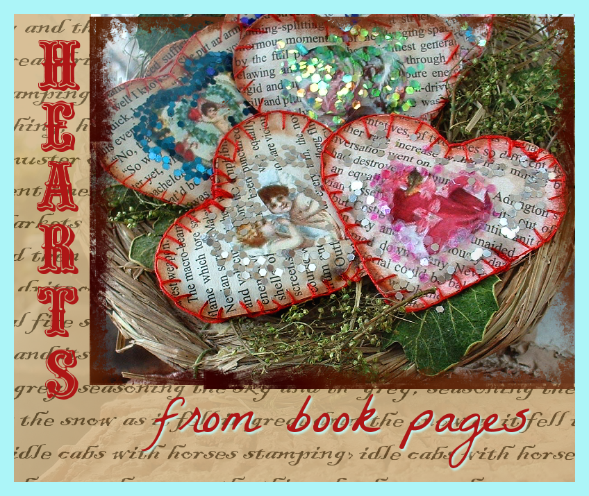 bookpagehearts