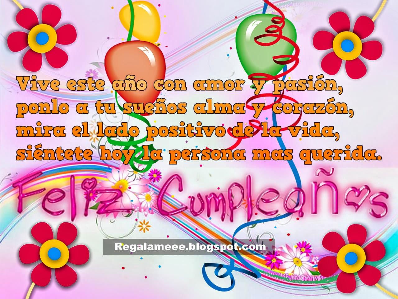 Imagenes Con Frases De Cumpleaños Para Compartir En Facebook