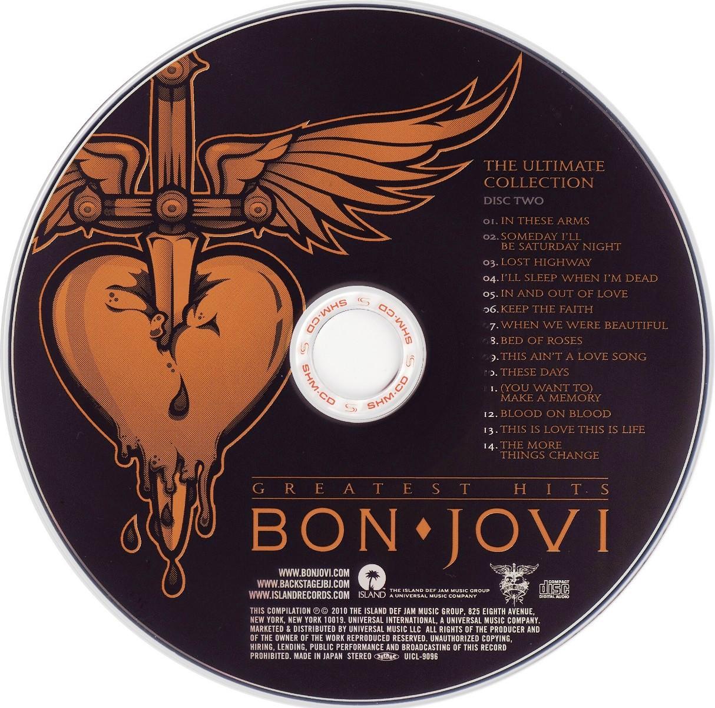 Bon Jovi Ultimate Collection: Super Capas: O Melhor Blog De Capas: Bon Jovi