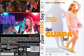 CARATULAI Feel PRETTY - ¡QUÉ GUAPA SOY! 2018 [COVER DVD]