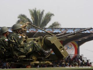 soldados congoleses, Cuba, México