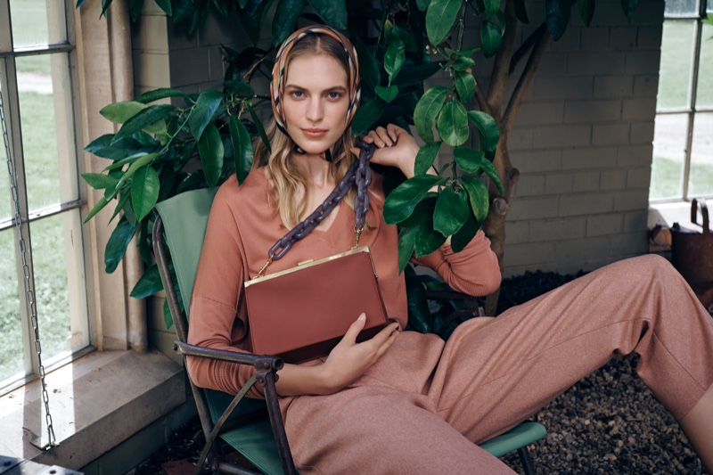 Oroton features a botanical scene for its fall-winter 2019 campaign