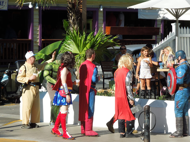 Superheroes on Duval Street