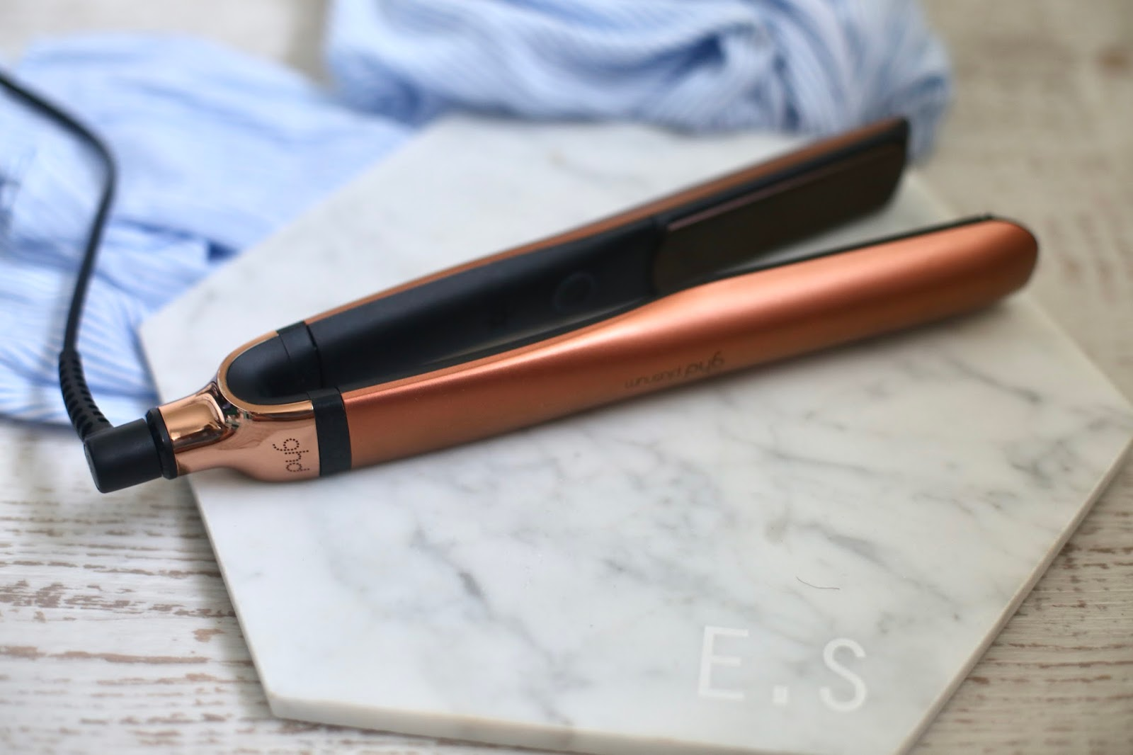 rose gold copper ghds