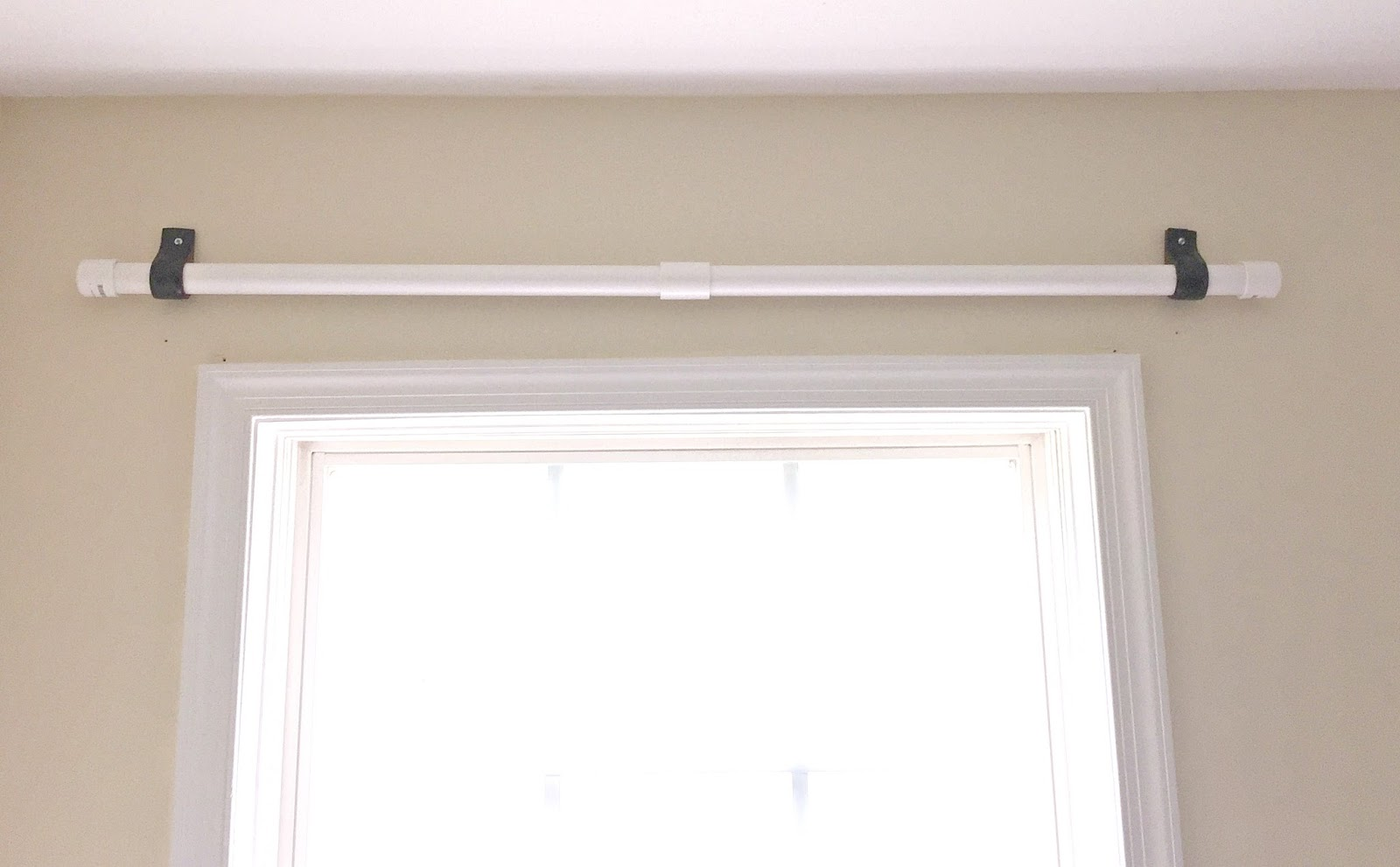 Vikalpah Cheapest Diy Curtain Rod Using Pvc Pipe