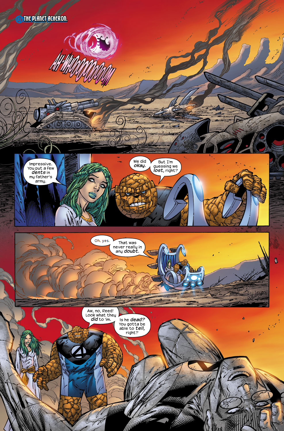 Read online Ultimate Fantastic Four (2004) comic -  Issue #52 - 23