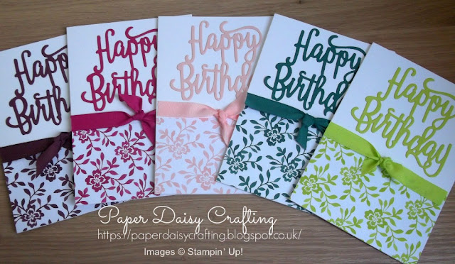 Fresh Florals DSP paper stack from Stampin Up