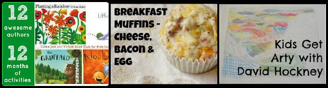 books, david hockney, breakfast muffin