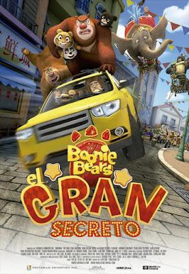Boonie Bears The Big Top Secret 2016 DVD R2 PAL Spanish