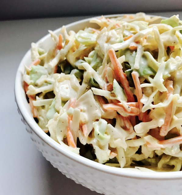 Spicy Cabbage Slaw by Whip & Wonder