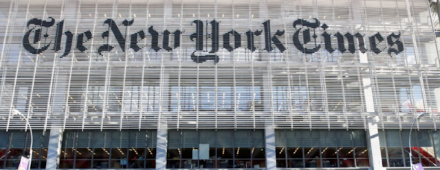 NYT Reporters Say 'F**k The Military,' Promote Anti-Semitic Conspiracy Theories, Tweet The N-Word