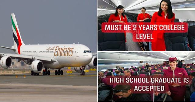 Flight Attendant (FA) Or Cabin Crew Application/Facebook