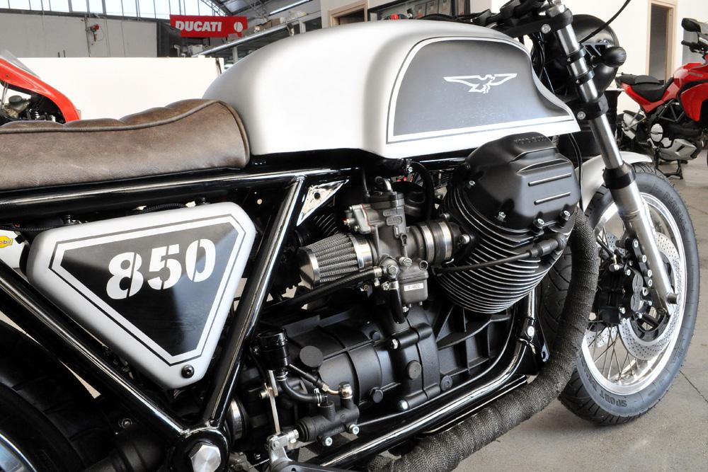 ϟ hell kustom ϟ: moto guzzi 850cafe racer napoli