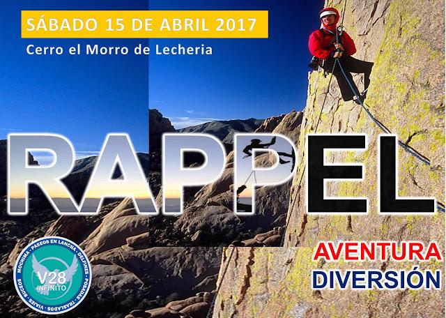 imagen  Rappel en el cerro el Morro Actividad  Programada para el 15 de Abril 2017 único día