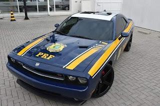 Dodge Challenger,rt,2008,2009, esportivo, prf, policia rodoviaria federal, polícia rodoviária federal, carro, viatura, de luxo, foz do iguaçu, pr, parana, paraná, flogão elite,flogao, elite, flogão,
