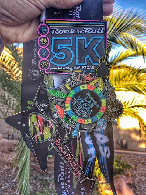 Rock'n'Roll Las Vegas Remix Challenge medals
